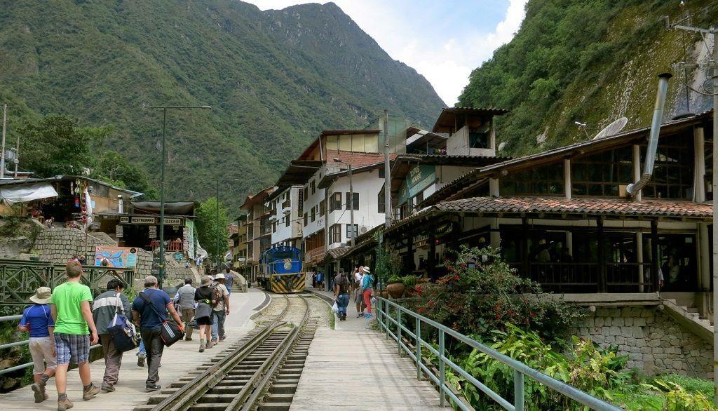 Pueblo Aguas Calientes Perú