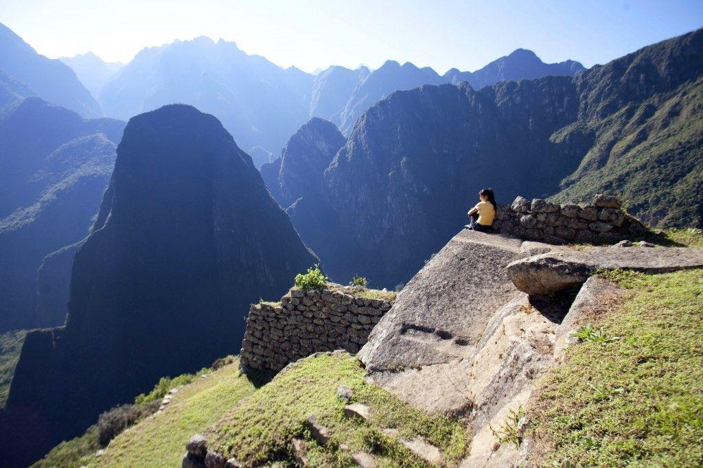 Terrazas en Machu Picchu