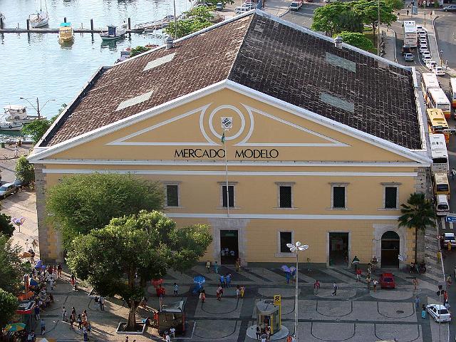 Mercado Modelo en Salvador de Bahía