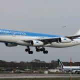 Despegue avión Aerolíneas Argentinas