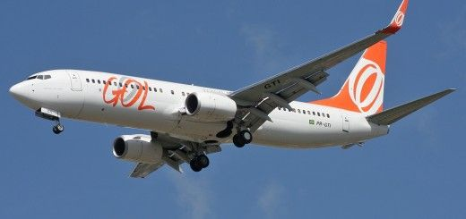 Avión aerolínea Gol