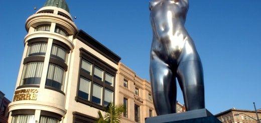 Escultura en Rodeo Drive, Los Angeles
