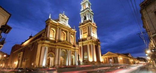 Iglesia San Francisco en Salta, Argentina