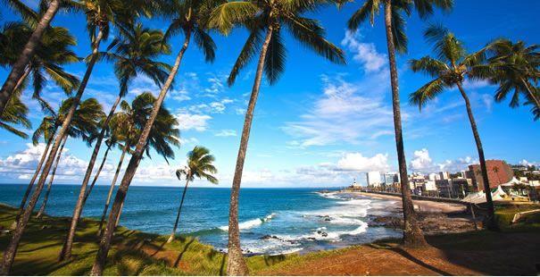 Playa Itapua en Salvador de Bahía