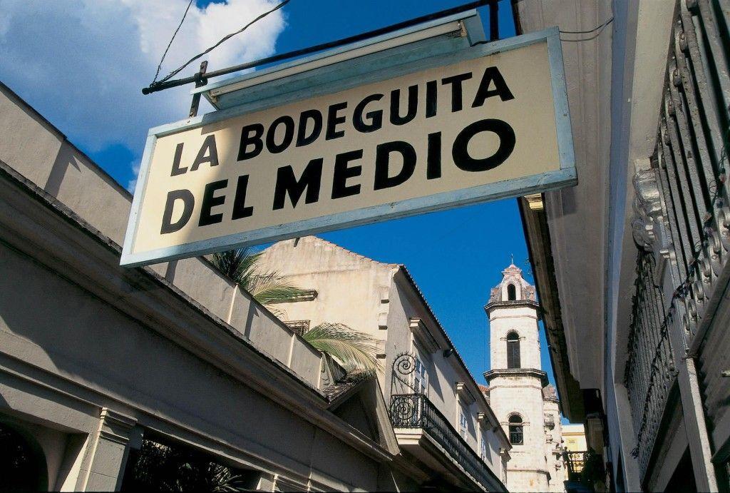 La bodeguita del medio, símbolo de Cuba