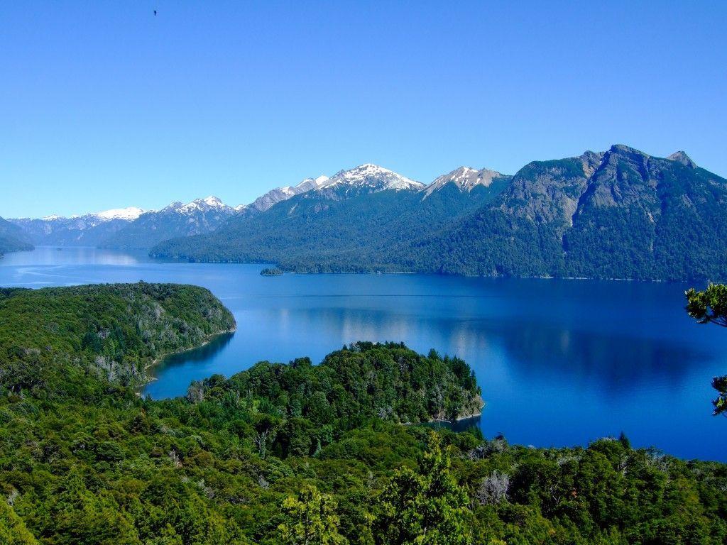 Lago y naturaleza en Bariloche