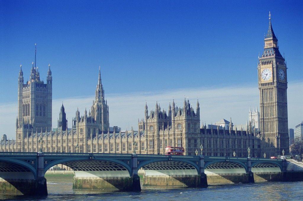 Parlamento inglés y Big Ben, Londres