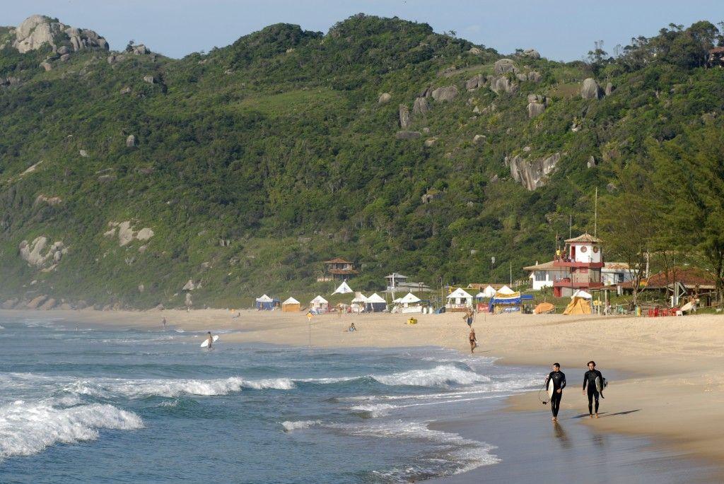 Playa Mole en Florianopolis