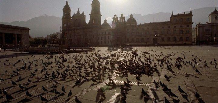 Plaza Bolivar en Bogotá
