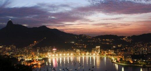 Rio de Janeiro de noche