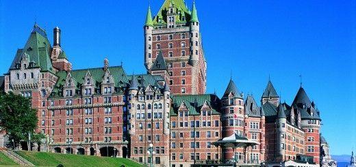 Castillo en Quebec