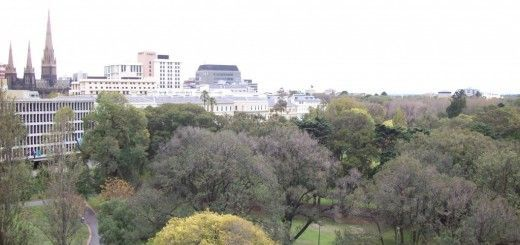 Parque en Melbourne, Australia