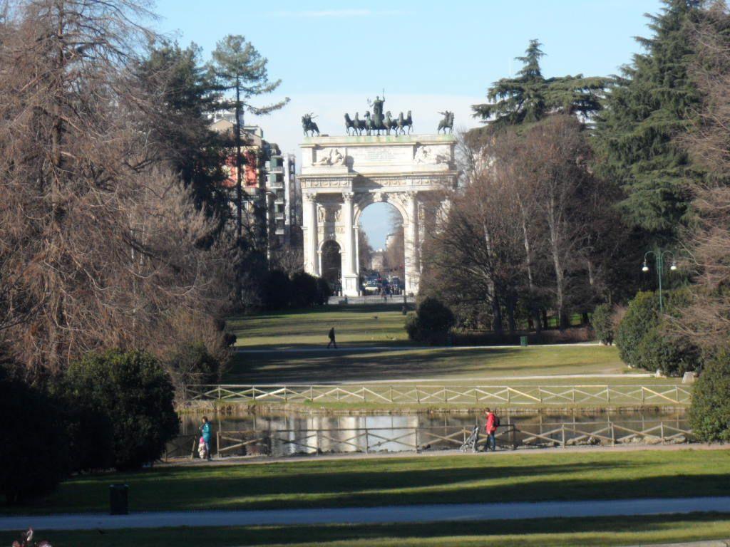 Arco Della Pace de Milán