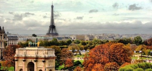 Arco del Triunfo y Torre Eiffel