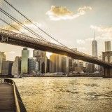 Brooklyn Bridge y Manhattan