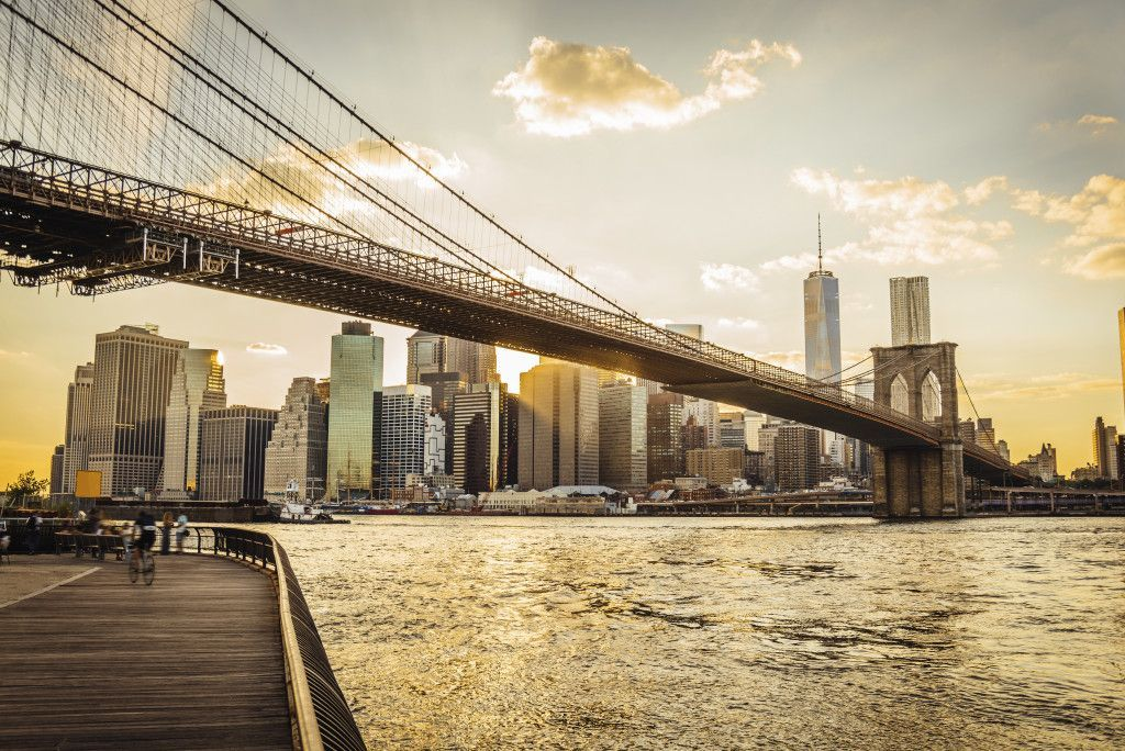 Brooklyn Bridge y Manhattan