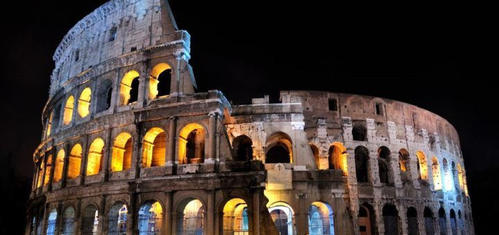 El Coliseo, símbolo de Roma