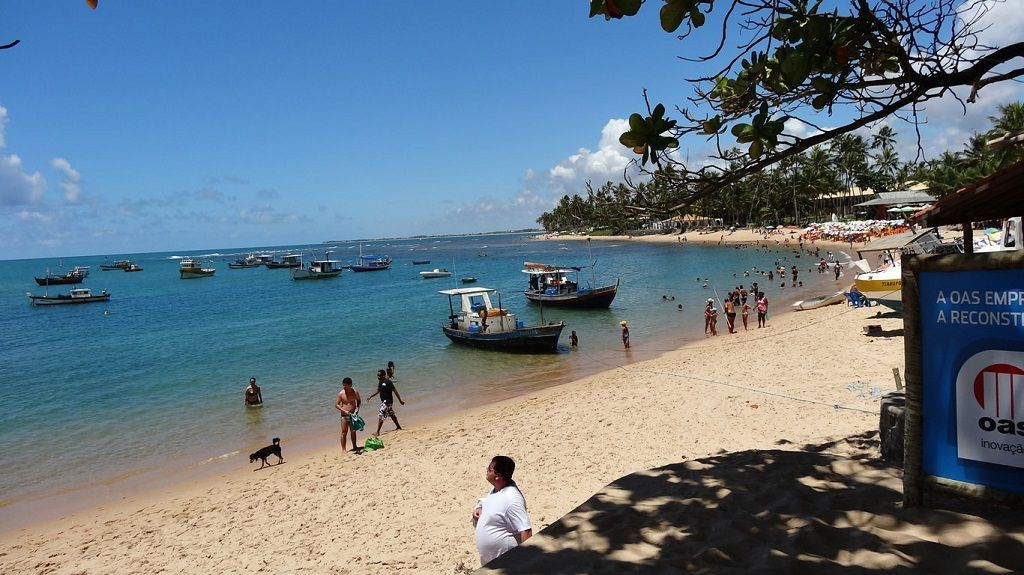 Playa Ondina en Salvador