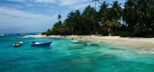 Playa de San Andres Colombia