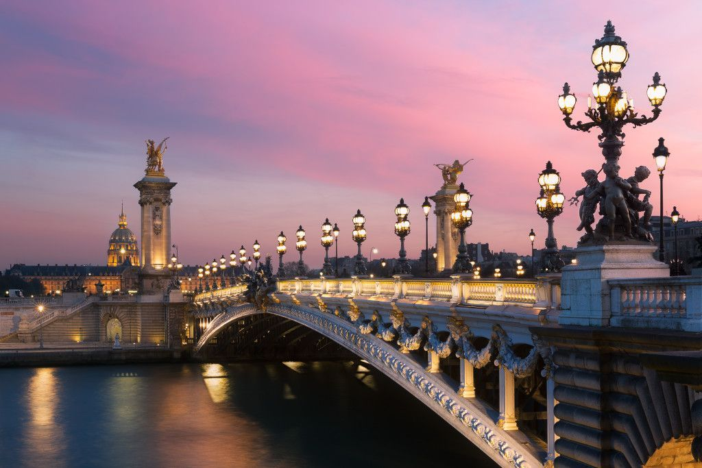 Pont Alexandre III Les Invalides