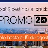 Promo Almundo 2x1