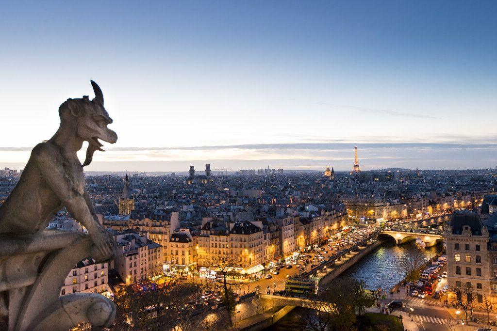 Vista panorámica de Paris