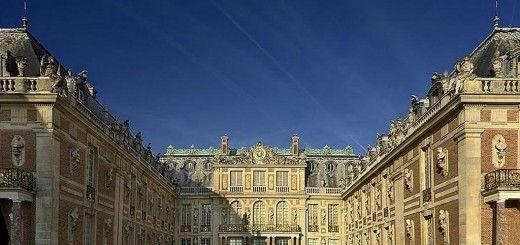Frente del Palacio de Versailles