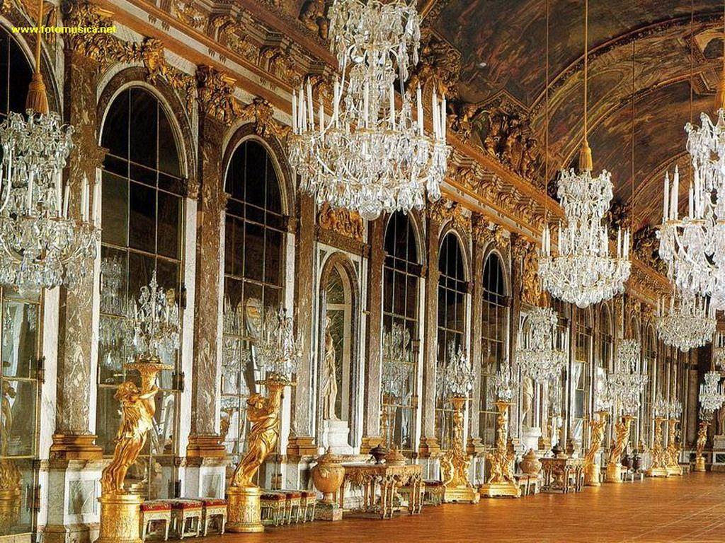 Salón de los Espejos - Palacio de Versailles
