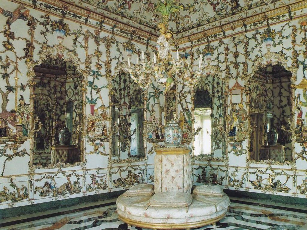 Sala de Porcelana del Palacio de Aranjuez