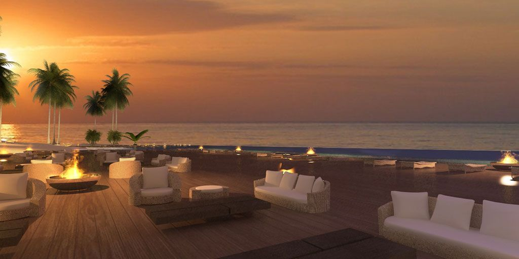 Atardecer en la Playa - La Romana - Rep. Dominicana