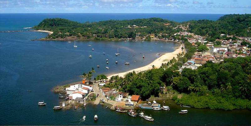 Playas de Itacaré, cerca de Salvador de Bahía
