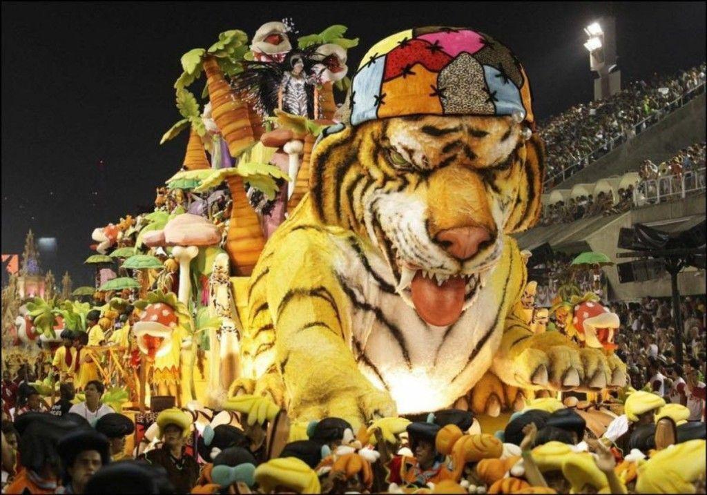 Carnaval de Rio a todo color