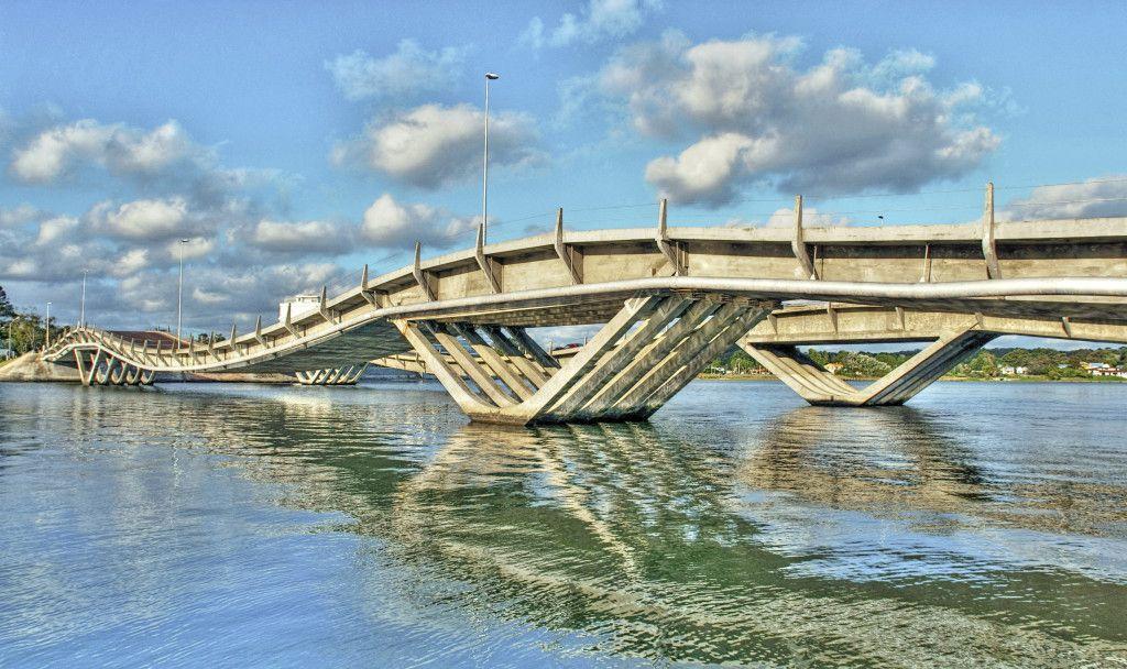 Puente La Barra en Punta del Este