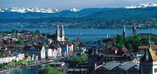 Paisajes de Zurich, Suiza
