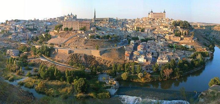 Vista panorámica de Toledo, España