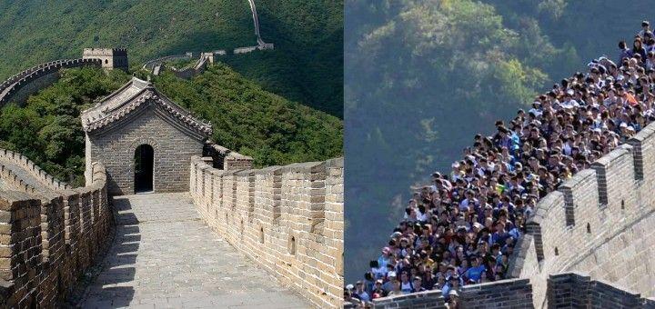 Atractivos turísticos: expectativa vs. realidad