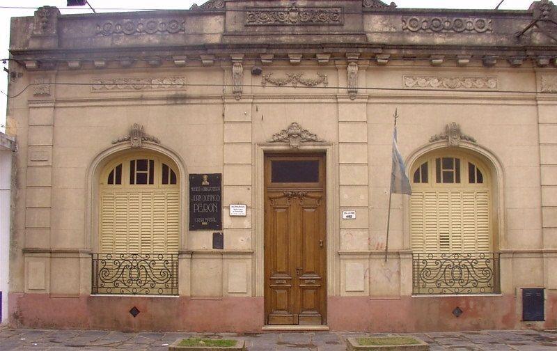 Casa de Perón en Lobos