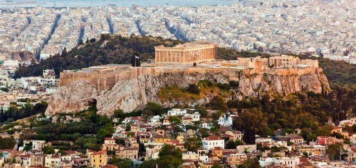 Acrópolis de Atenas en Grecia
