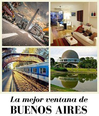 Departamentos amoblados para viajar a Buenos Aires
