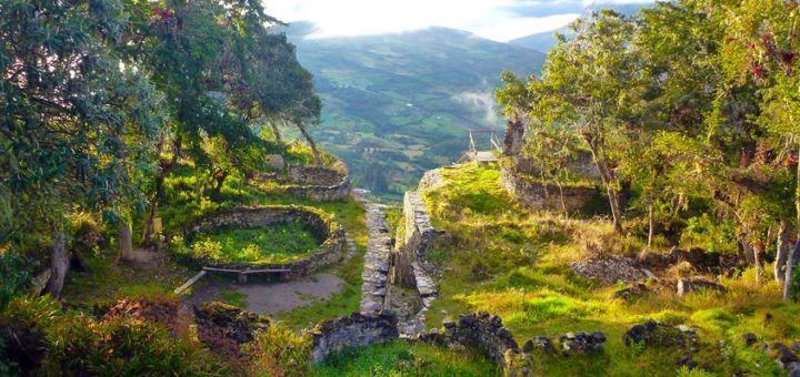Ruinas de Kuelap, ubicadas en un entorno natural único