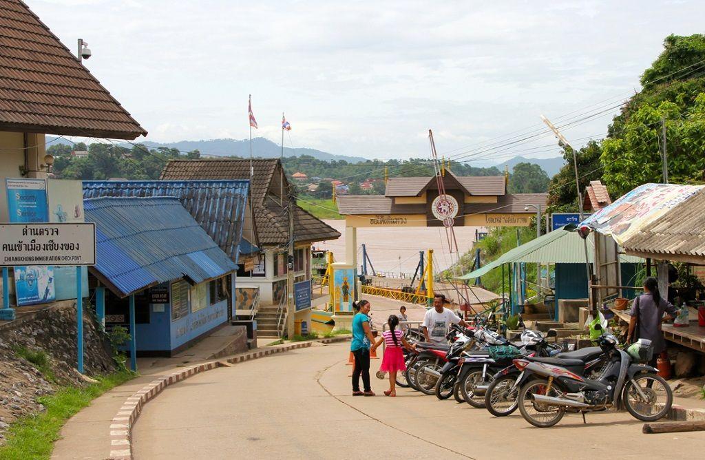 Huai Xai es el principal punto de ingreso a Laos desde Tailandia