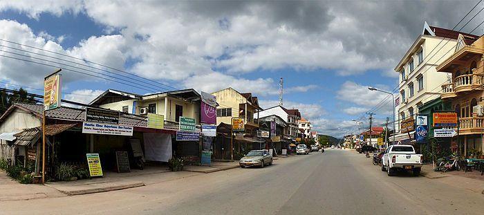 """Este es el """"centro"""" de Luang Namtha"""