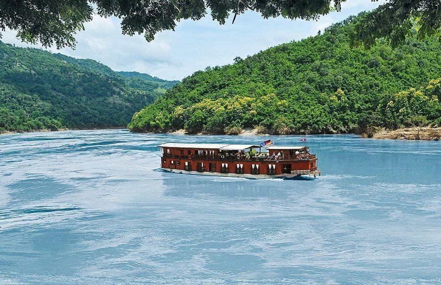 El paseo en bote por el Mekong será inolvidable