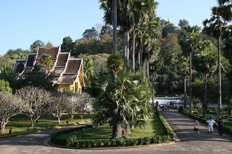 El Palacio Real en Luang Prabang
