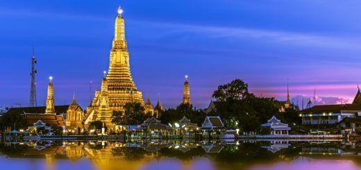 Templo Wat Arun, obligado en tu viaje a Bangkok