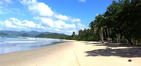 Long Beach, 10 kms de playa en la Isla de Palawan