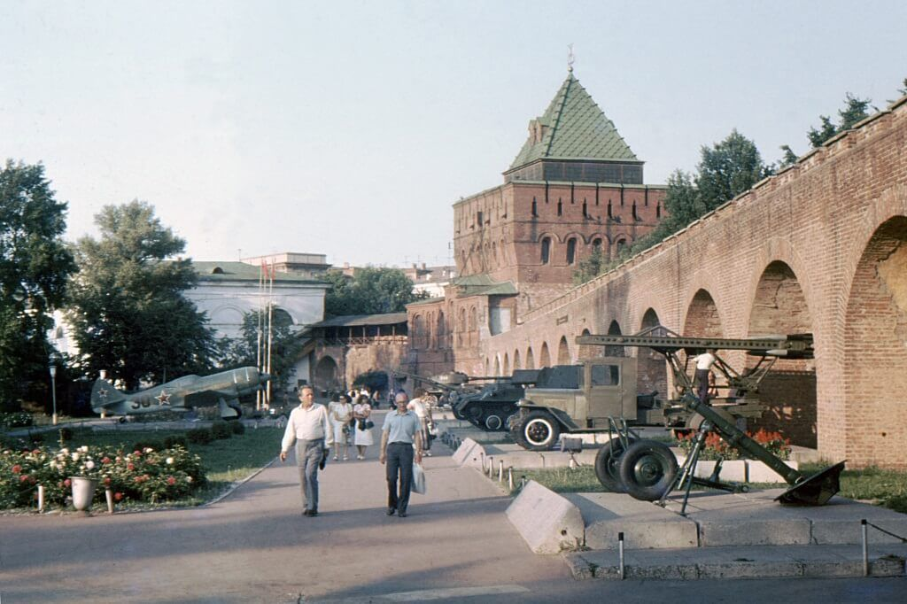 El kremlin de Nizhnij Novgorod