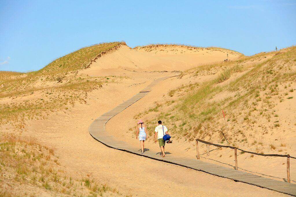 Kaliningrado tiene playas y las dunas más grandes de Europa