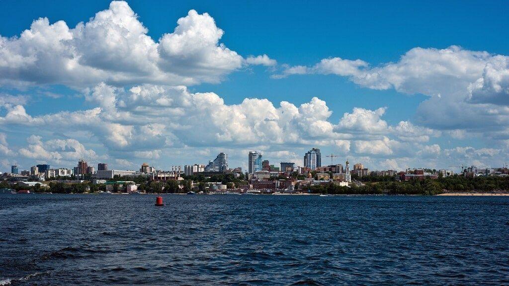 Samara desde el río Volga